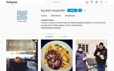 Fountain House København er nu på Instagram