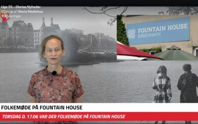 Gloria TV rapporterer fra folkemøde på Østerbro